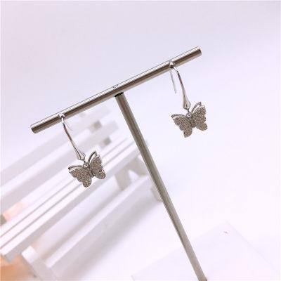 蝴蝶堡-s925银合成立方氧化锆耳坠