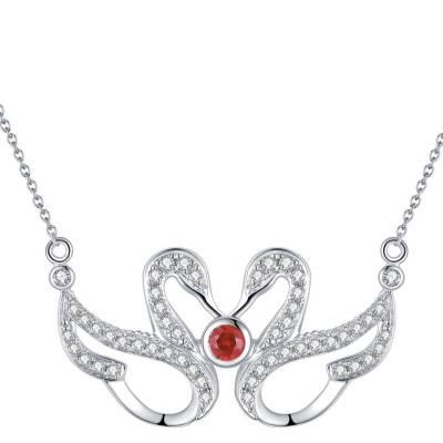 爱情圣事-18k白钻石套链