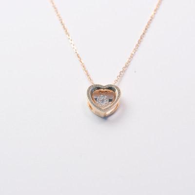 爱情之轮18K钻石套链