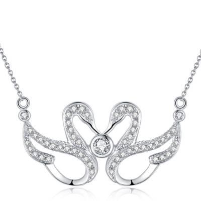爱情圣事 18k白钻石套链