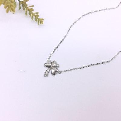 桃花女神S925银素银套链