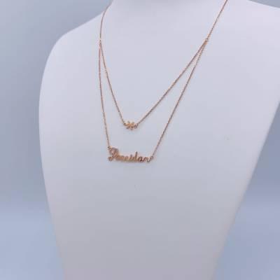幸福派对18K钻石套链