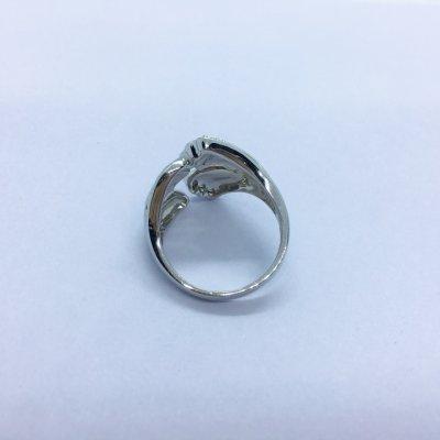 S925银托帕石戒指