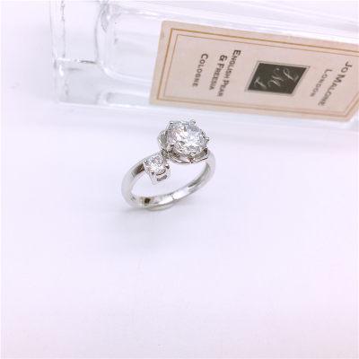 爱情女神 925银合成立方氧化锆戒指