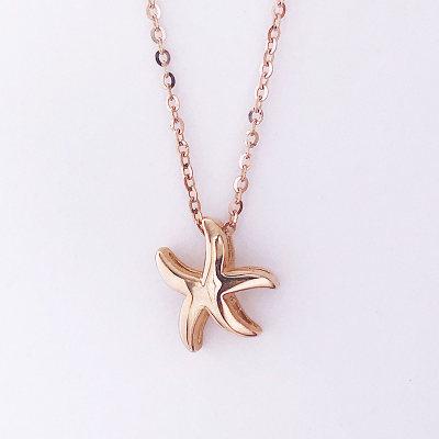 幸福珠宝专柜正品 幸福感悟 大幸福 海天幸福 AU750金玫瑰色素金套链