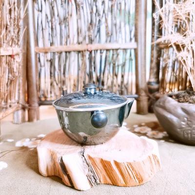 匠义-足银仿古茶具