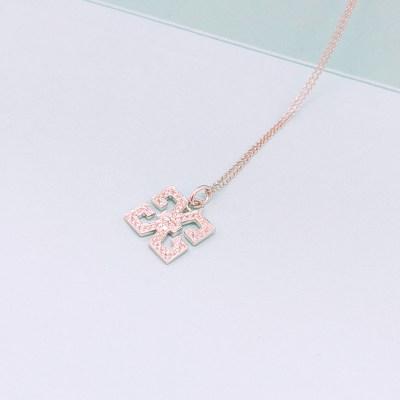 幸福之源18K金钻石套链