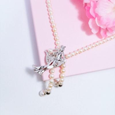 幸福牵挂s925银珍珠项链