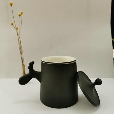 陶银艺-足银本色办公家居-鹿角马克杯