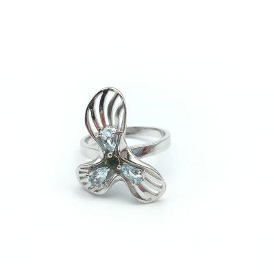 幸福期望 S925银托帕石戒指