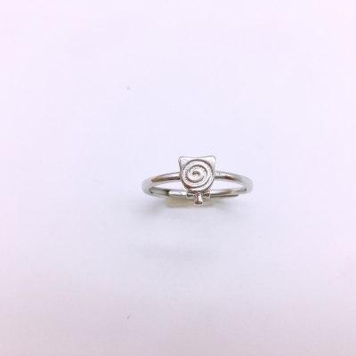 美银物语S925银素银戒指