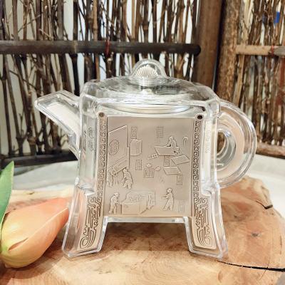 匠义-足银本色茶具-泡茶壶