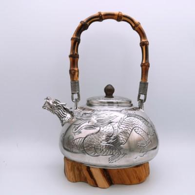 足银本色提梁壶茶具礼品