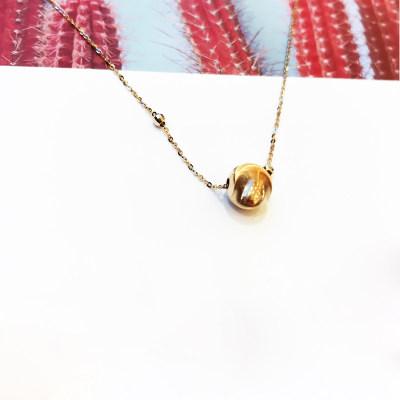 幸福之珠 商柜正品 AU750玫瑰金套链 送老婆