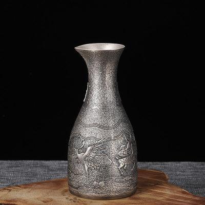 银酒赋-足银仿古酒具