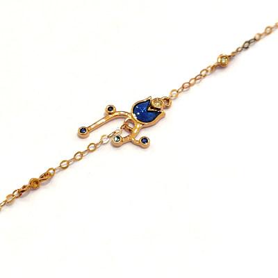 幸福存在专柜正品 18K金钻石手链 日常穿搭必备