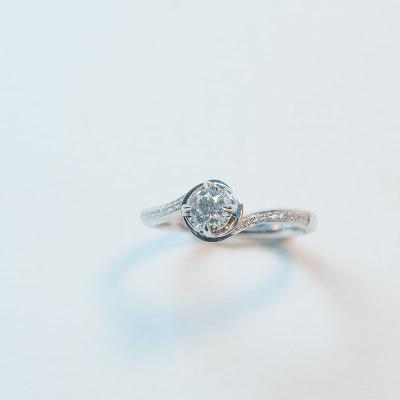 幸福真命18K钻石女戒