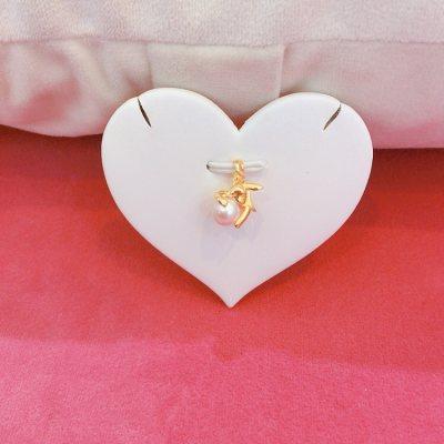 幸福兔—珍珠吊坠