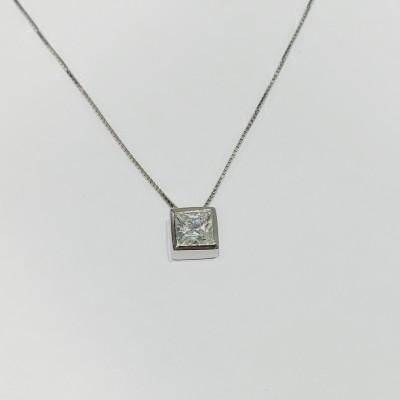千惑 S925银合成立方氧化锆套链