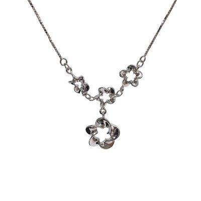 想起S925银电白素银套链