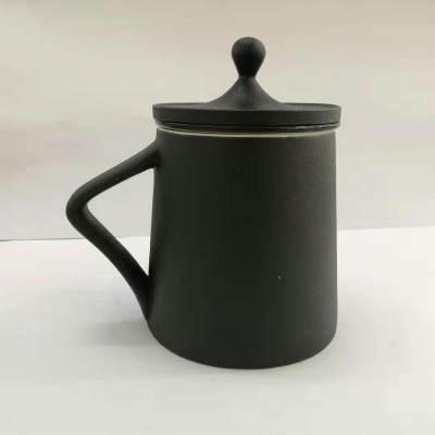 陶银艺-足银本色办公家居-水滴马克杯