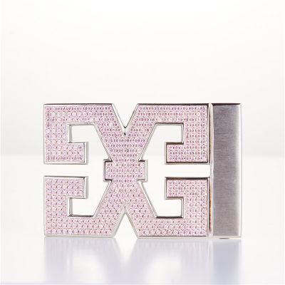 幸福之源-S925银合成立方氧化锆皮带扣时尚品位大气优雅男士节日礼品