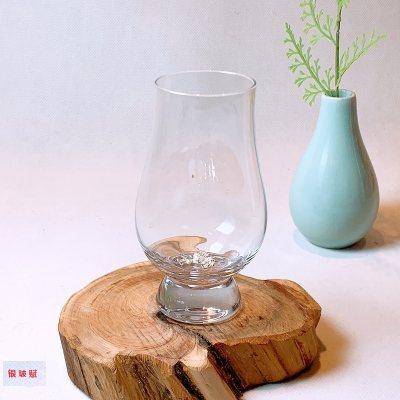 银玻赋 银与水晶玻璃组合洋酒威士忌品鉴杯