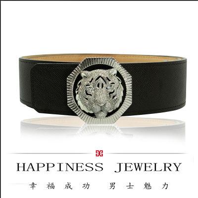 幸福成功S925银皮带扣