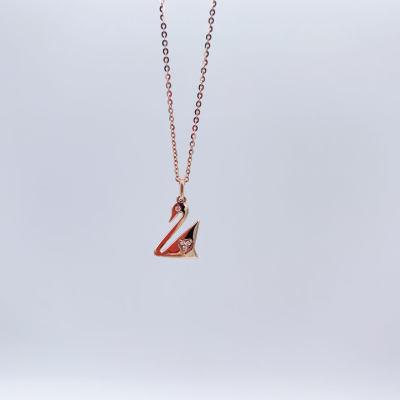 爱情圣事-18k红钻石项链