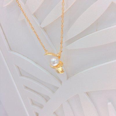 幸福兔—珍珠套链