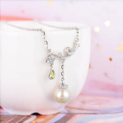 老桂宝 S925银珍珠套链