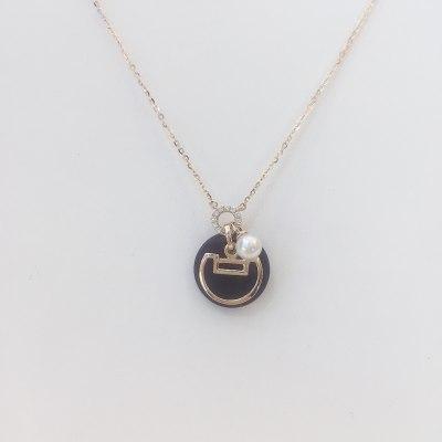 幸福国度18K金玫瑰色珍珠项链
