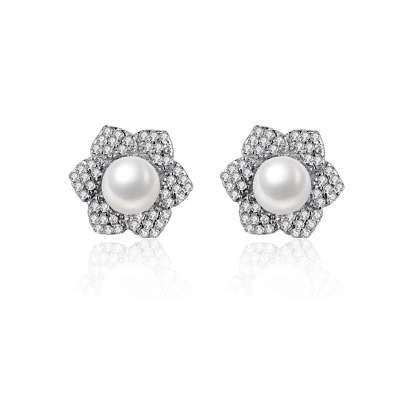 S925银珍珠项链