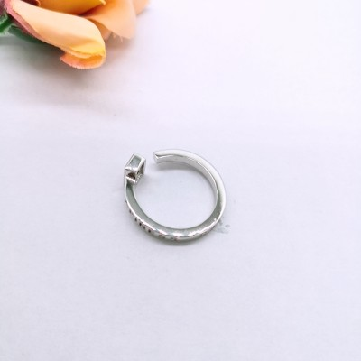 925银镶石榴石戒指
