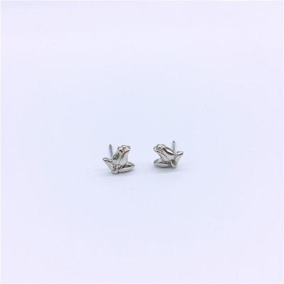 梦幻牡丹S925银素银耳钉