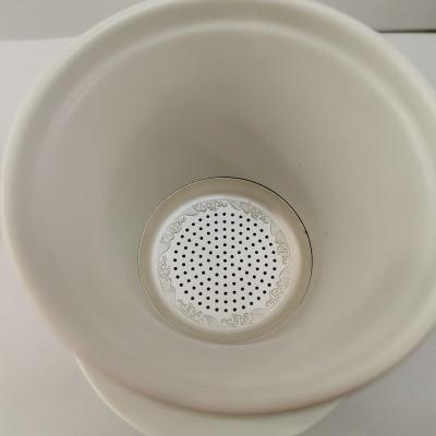 陶银艺-足银本色陶瓷茶具