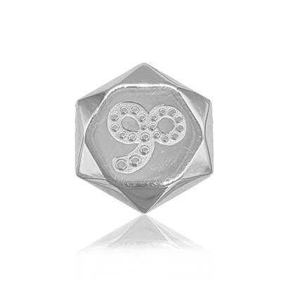 幸福哲学S925银版(摩羯座)
