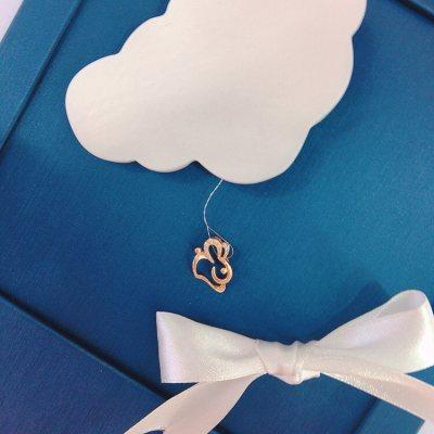 幸福小Q—玫瑰金钻石吊坠(兔兔)