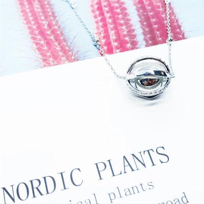 幸福之珠 商柜正品 S925银合成立方氧化锆套链 送老婆