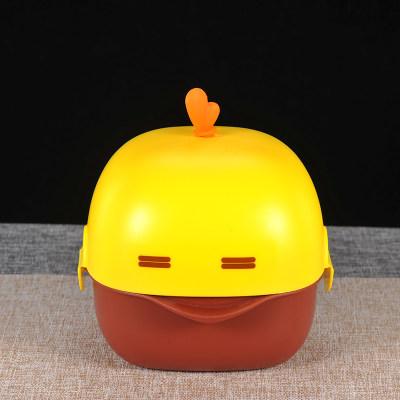 银康赋 S999银宝宝餐具饭盒 创意卡通 辅食碗训练吃饭