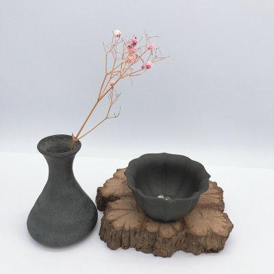 银砂赋-足银本色紫砂茶具