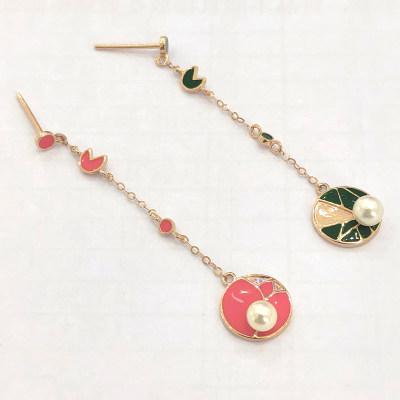 幸福存在专柜正品 18K金珍珠耳钉 日常穿搭必备
