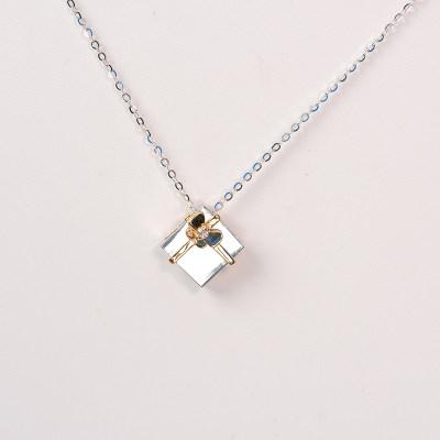 幸福收获18K金分色钻石 套链