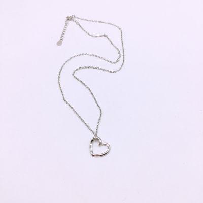 小情歌S925银素银套链