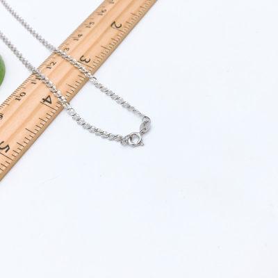 裕泰隆S925银电白机织女款项链