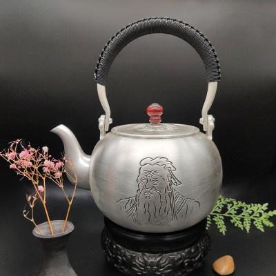 艺魂足银本色茶具-万世师表