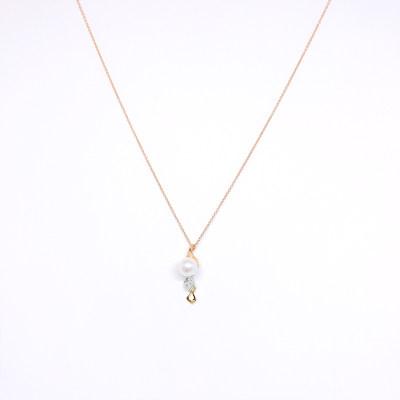 幸福唯美16K金珍珠套链