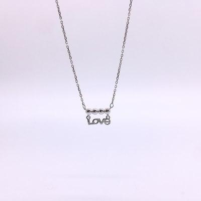 最美情话S925银素银套链