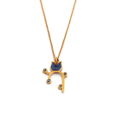 幸福存在专柜正品 18K金钻石套链 日常穿搭必备