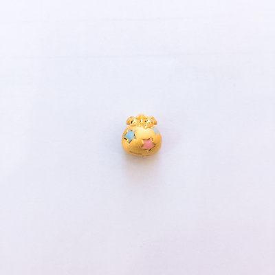 幸福智慧 3D硬金素金手串